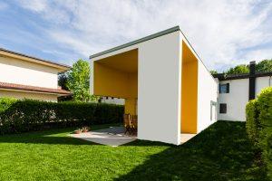 Ristrutturazione e ampliamento casa privata a Padova con giardino