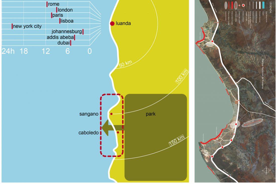 Area di sviluppo del piano turistico costiero di Cabo Lebo in Angola